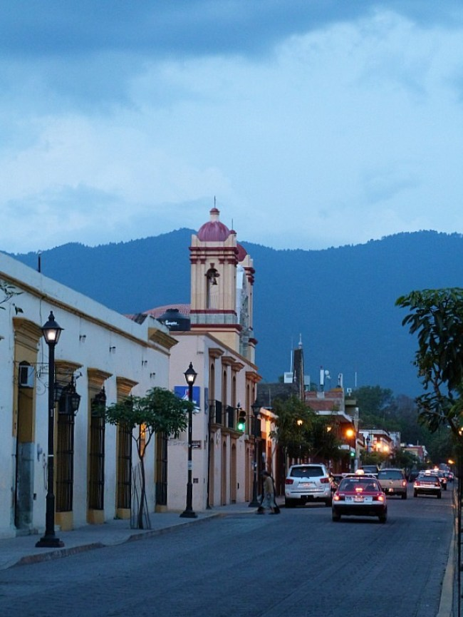 Oaxaca City in Mexico