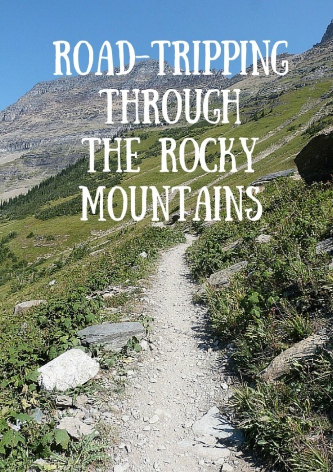Road-tripping through the Rocky Mountains