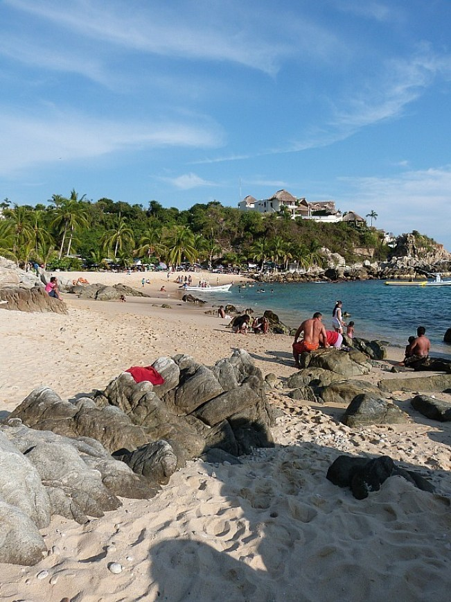 Playa Manzanillo in Puerto Escondido, Mexico