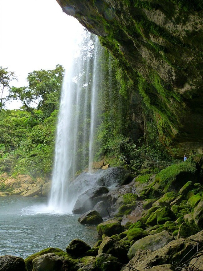 Misol Ha Waterfall, Chiapas, Mexico