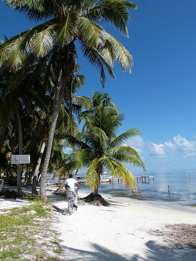 Beach on Caye Caulker, Belize