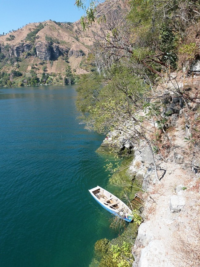 San Marcos la Laguna on Lake Atitlan, Guatemala