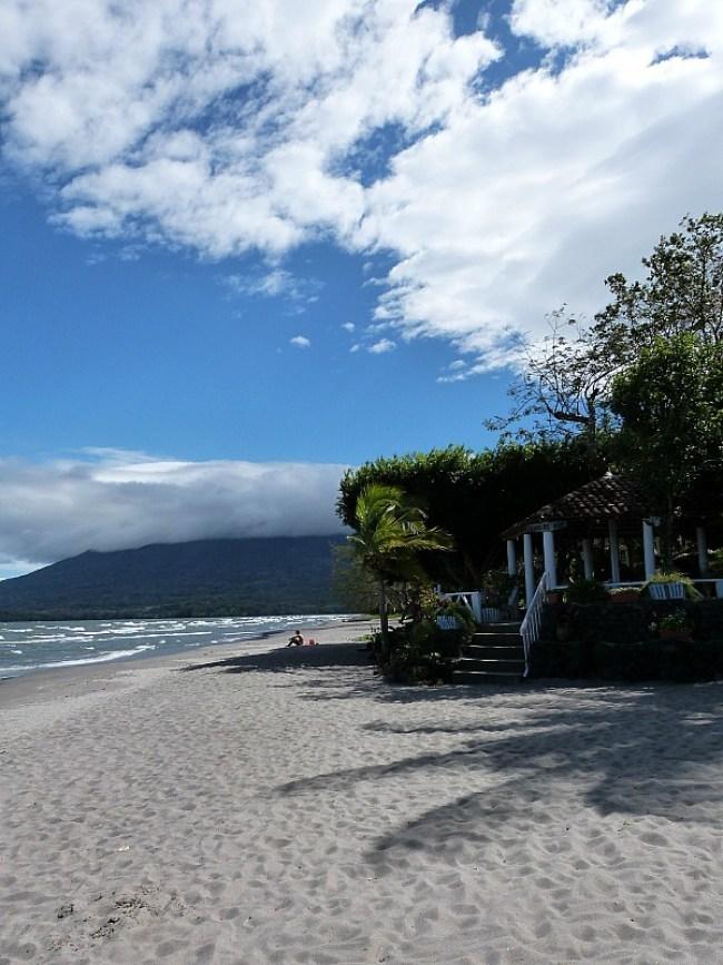 Santo Domingo beach on Ometepe Island, Nicaragua