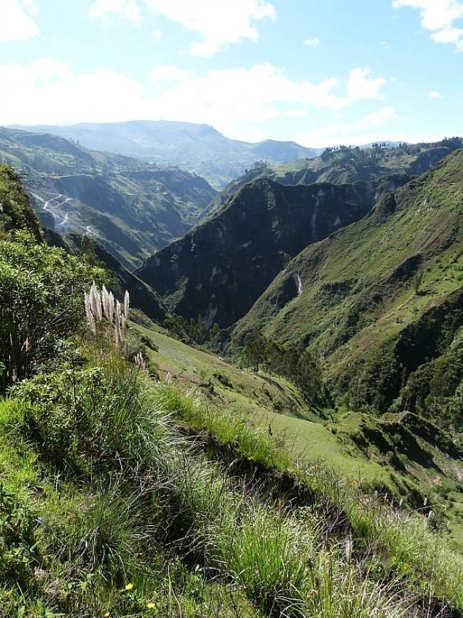 Hiking the Quilotoa Loop in Ecuador