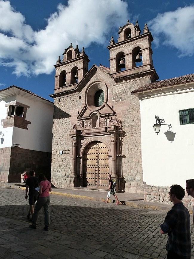 Church in Cusco, Peru
