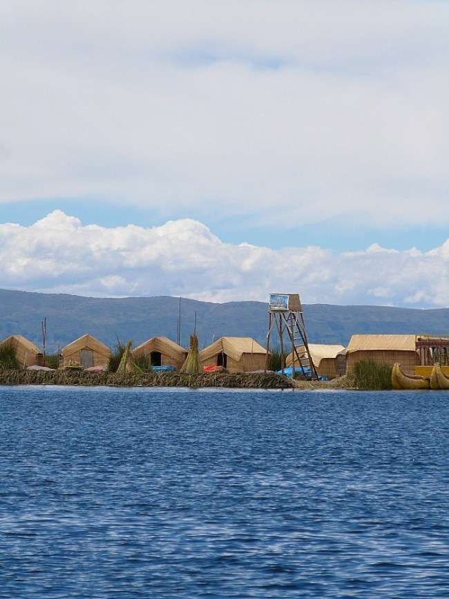 Floating Islands of Lake Titicaca, Peru
