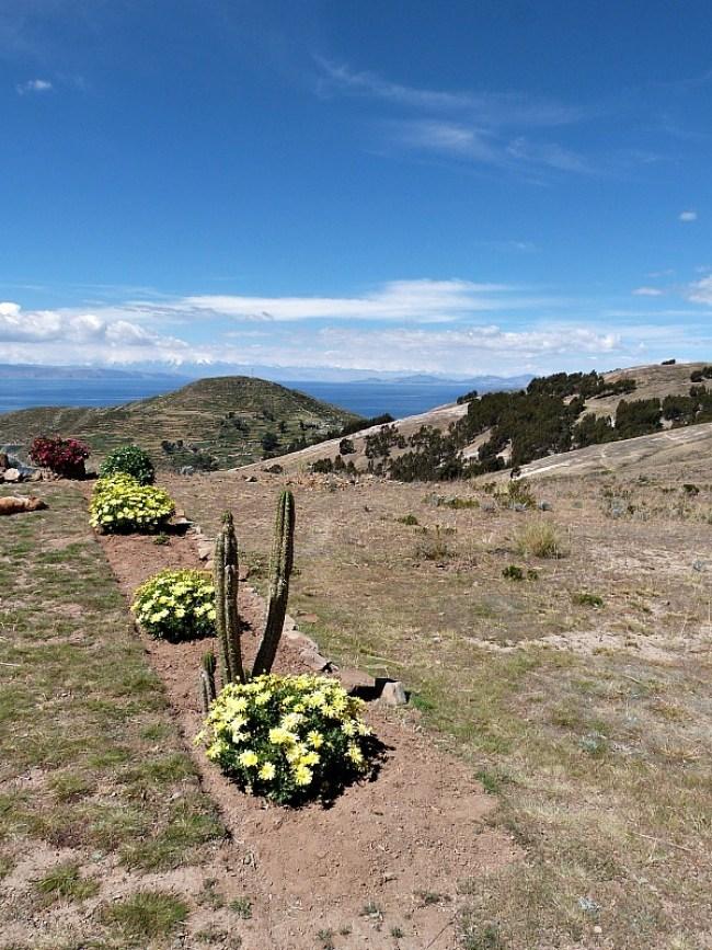Isla del Sol in Lake Titicaca, Bolivia