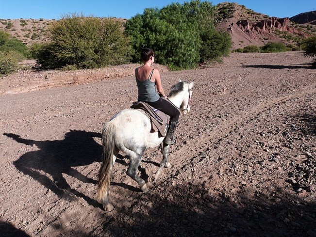 Horseriding around Tupiza, Southern Bolivia