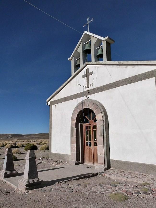 Church in San Antonio de Lipez in south west Bolivia