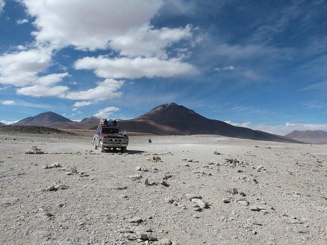 Dali desert in remote South West Bolivia