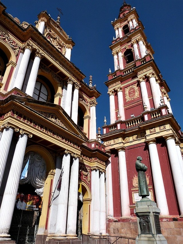 Beautiful colonial building in Salta, Northern Argentina