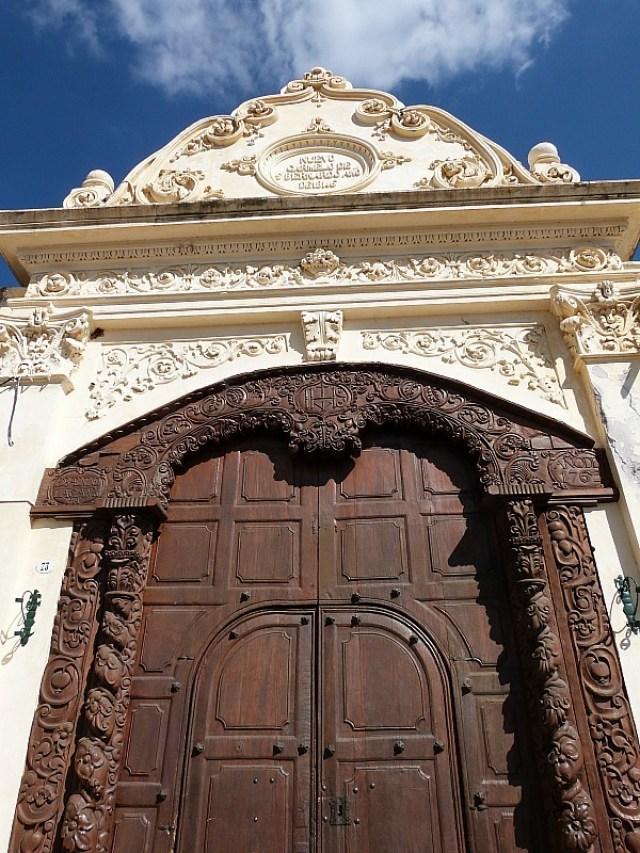 Intricately designed church in Salta, Northern Argentina