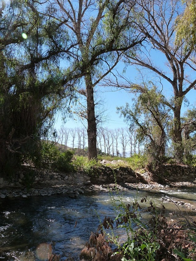 River in Cachi, Northern Argentina