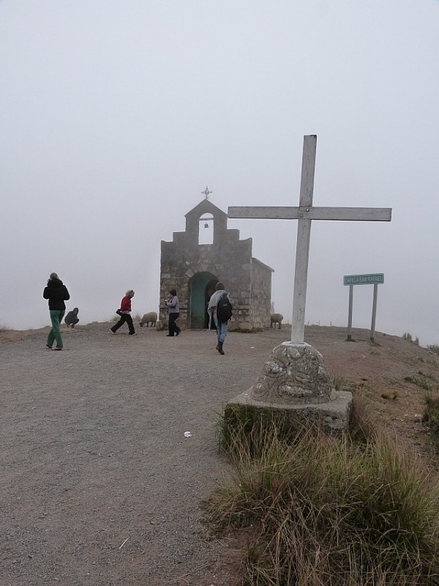 Small chapel in the mountains near Cachi, Northern Argentina