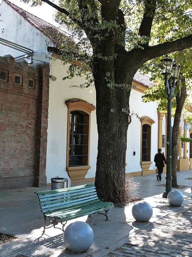 Street in Recoleta, Buenos Aires