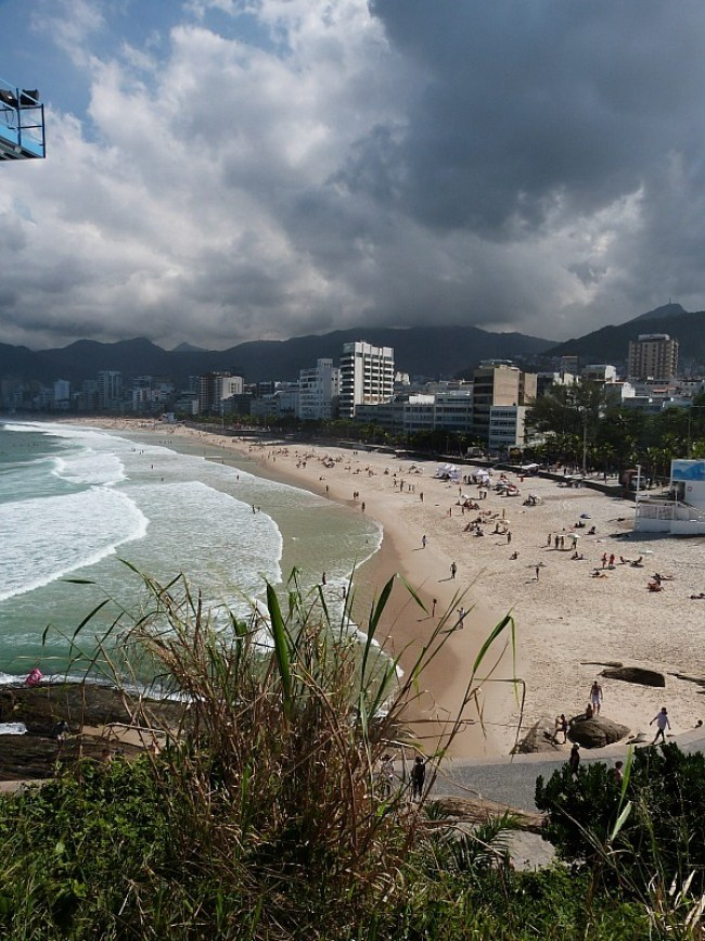 Ipamena Beach in Rio de Janeiro