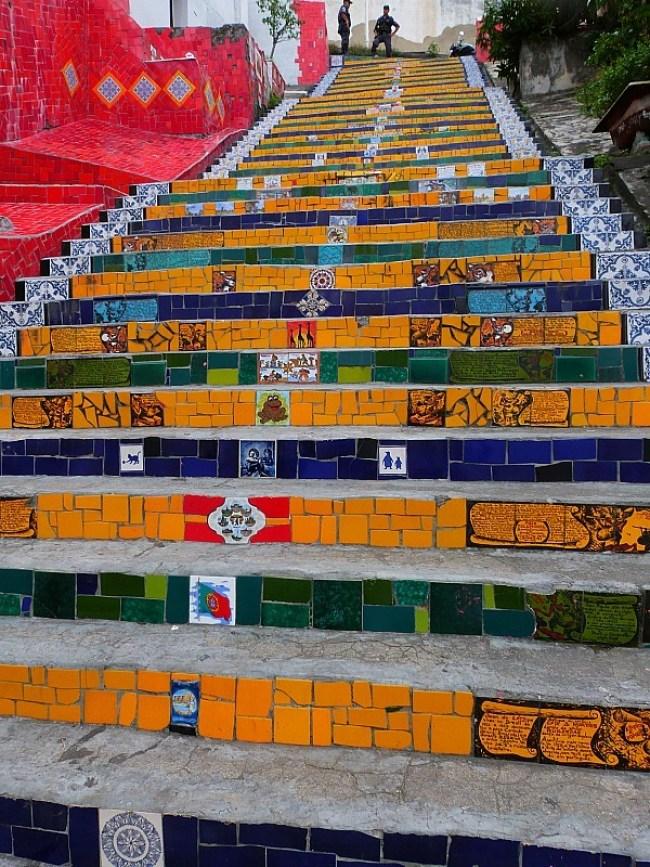 Escadaria Selarón in Lapa, Rio de Janeiro