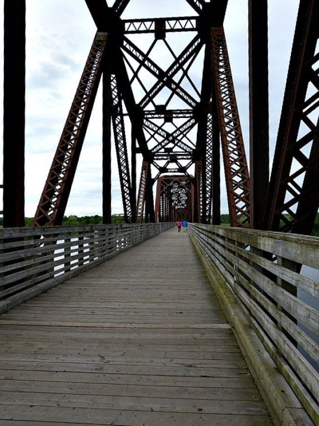 Bridge in Fredericton, New Brunswick