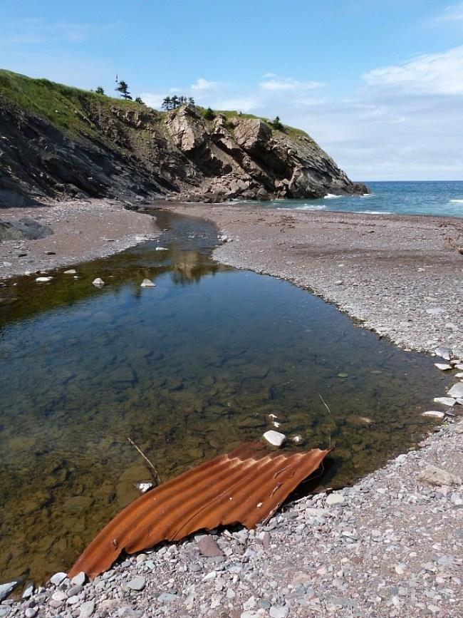 Meat Cove on Cape Breton Island, Nova Scotia