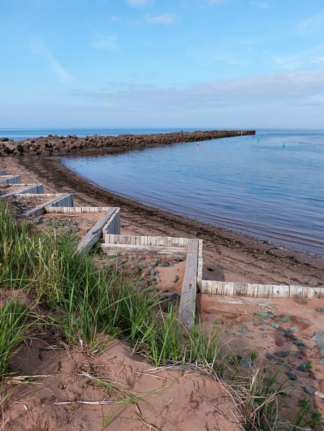 North Rustico beach on Prince Edward Island