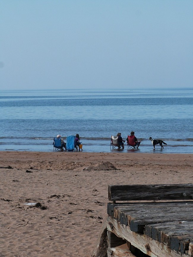 Beach in Prince Edward Island National Park