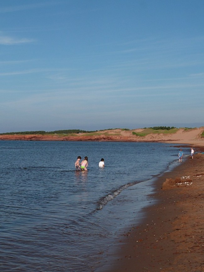 Cavendish Beach on Prince Edward Island