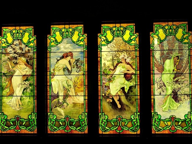 The Stained Glass Museum in Chicago