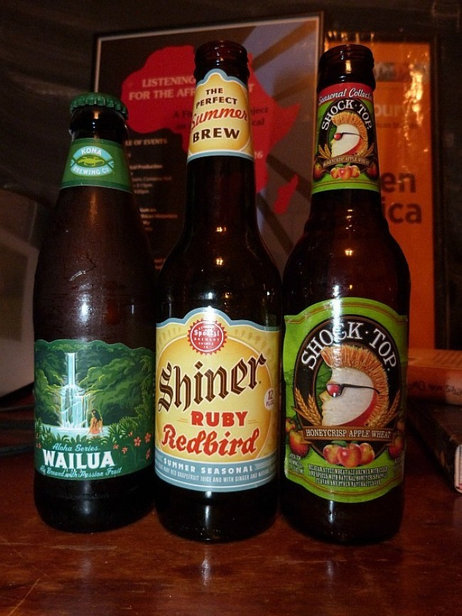 Selection of craft beers in Chicago