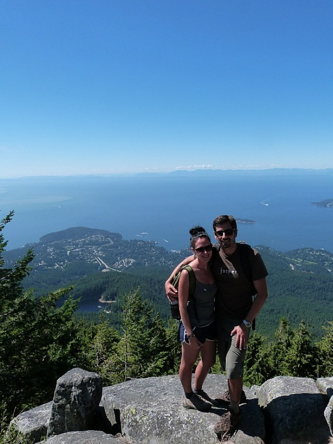 The summit of Cypress Mountain in North Vancouver, Canada