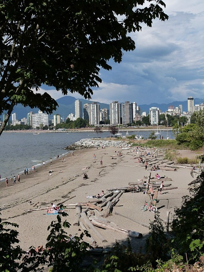 Beach in Kitsilano, Vancouver