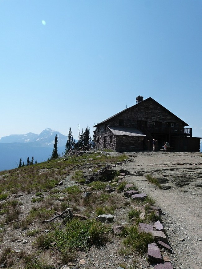 Granite Park Wilderness Chalet in Glacier National Park in Montana - a Rocky Mountain Road Trip must
