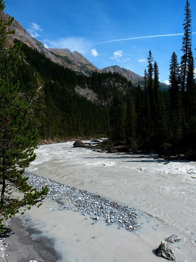 Kicking Horse River in Yoho National Park, Canada - a Rocky Mountain Road Trip must