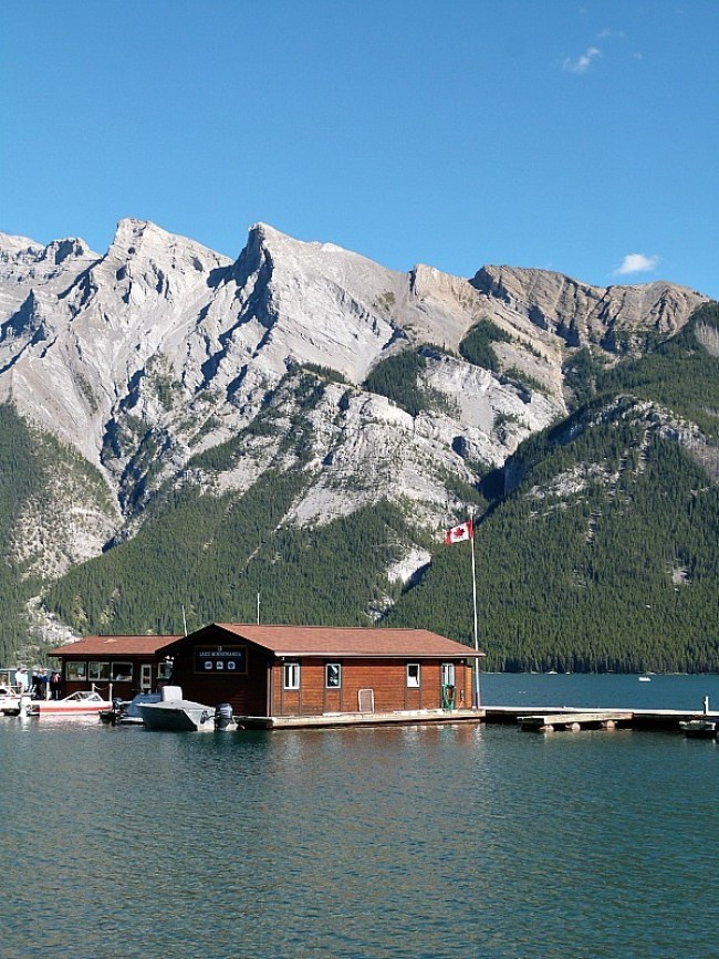 Lake Minnewanka in Banff National Park, Canada - a Rocky Mountain Road Trip must