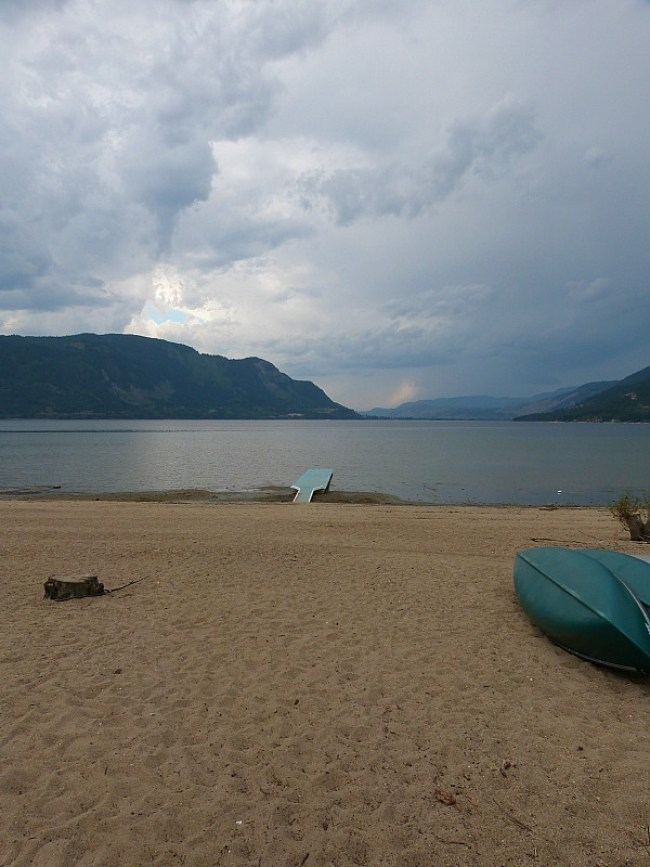 Quoout Lodge, a First Nations luxury Lodge on Little Shuswap Lake in British Columbia