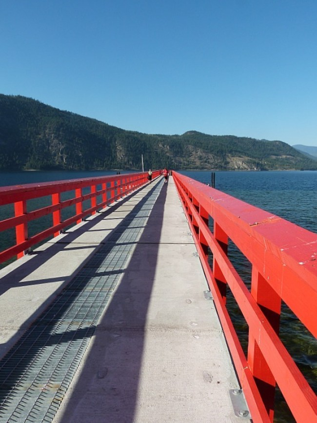 Chase Pier in the Shuswap Lake Region of British Columbia, Canada