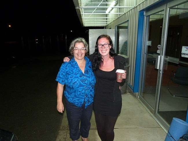 Me and my Help X Host in Shuswap Lake Canada