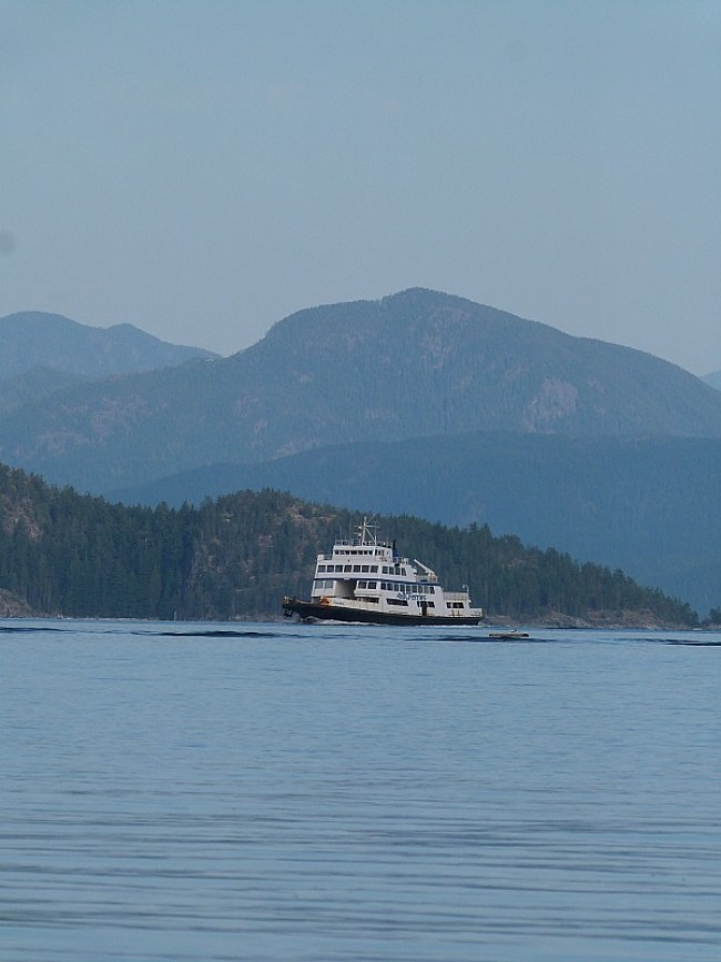 Cortes Island ferry from Heriot Bay, Quadra Island