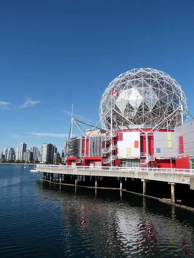 The Science Centre in Vancouver in the Fall