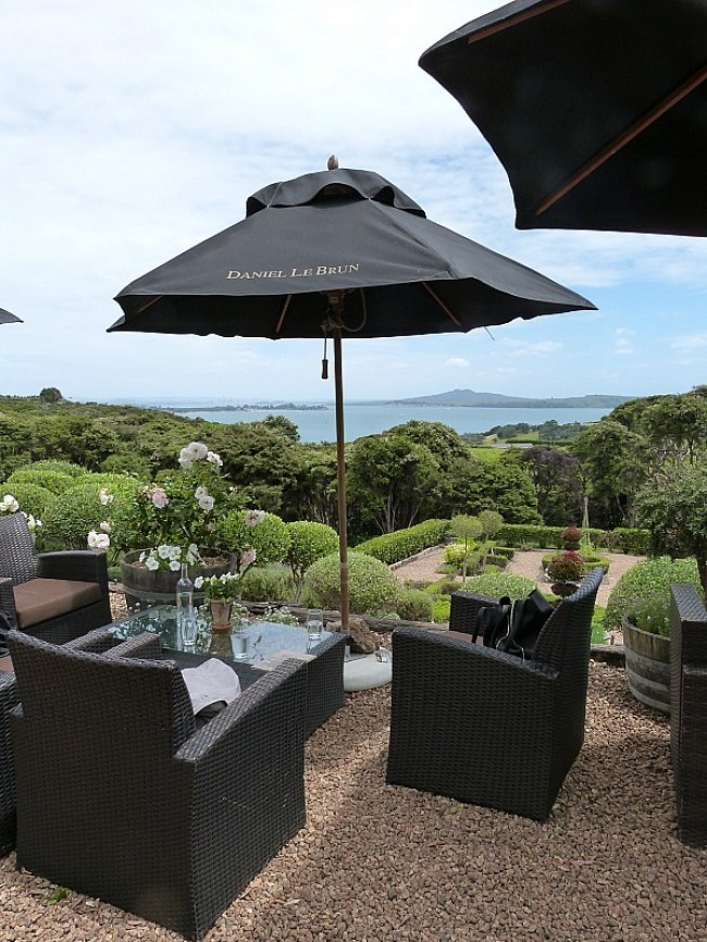Mudbrick Winery on Waiheke Island in New Zealand