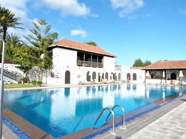 Pool at the Parador de la Gomera on La Gomera in the Canary Islands