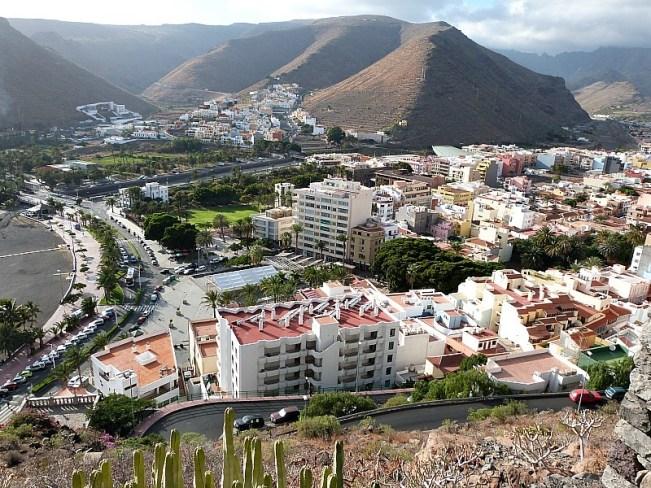 San Sebastian de la Gomera on La Gomera in the Canary Islands