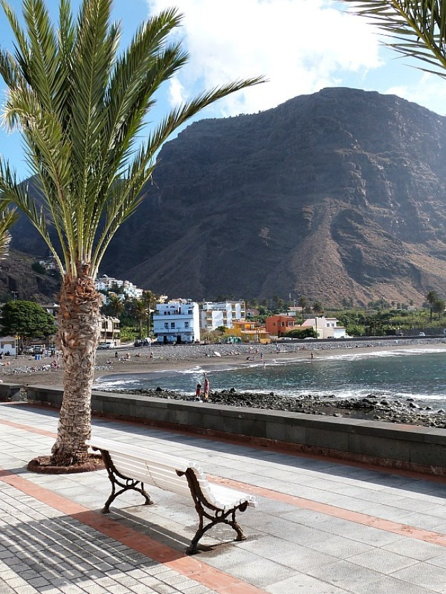Valle Gran Rey on La Gomera in the Canary Islands