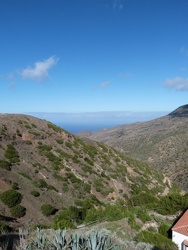 Amazing views on La Gomera in the Canary Islands