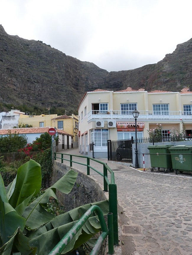 Agulo on La Gomera in the Canary Islands of Spain