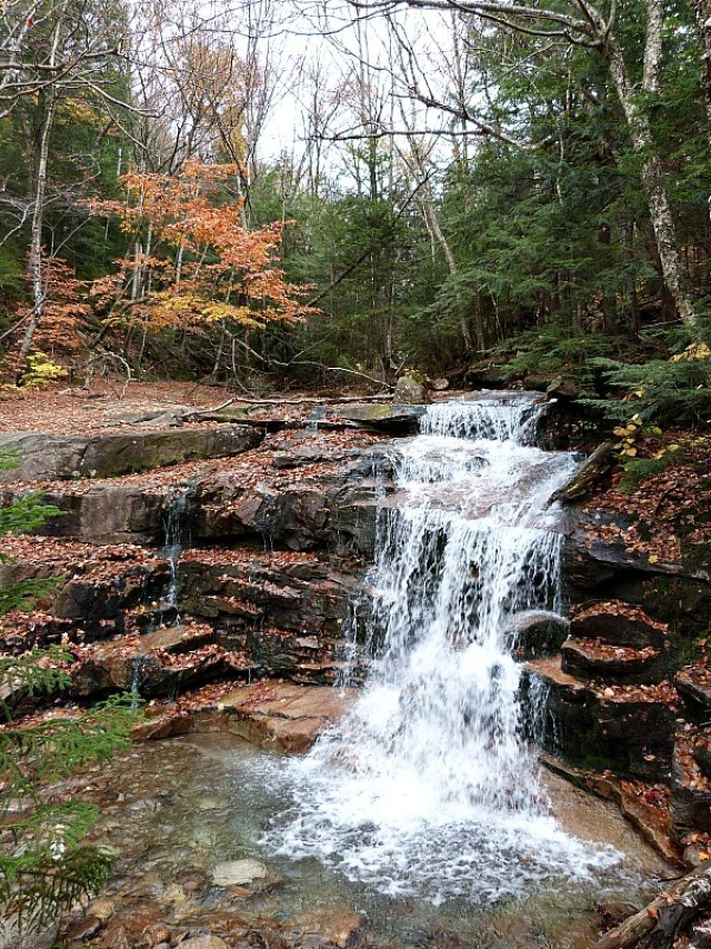 Lovely waterfalls and colorful leaves - one of the reasons to experience fall in North America