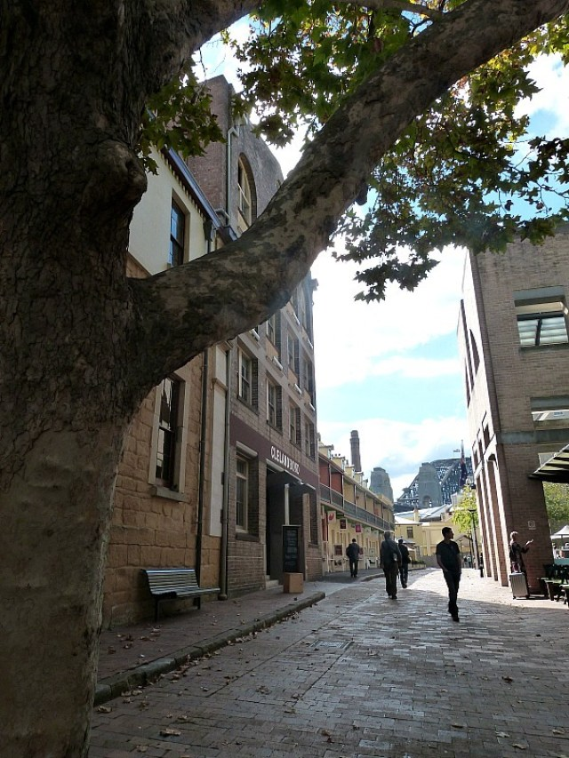 The historic Rocks district - one of the 30 Reasons Why I Love Sydney