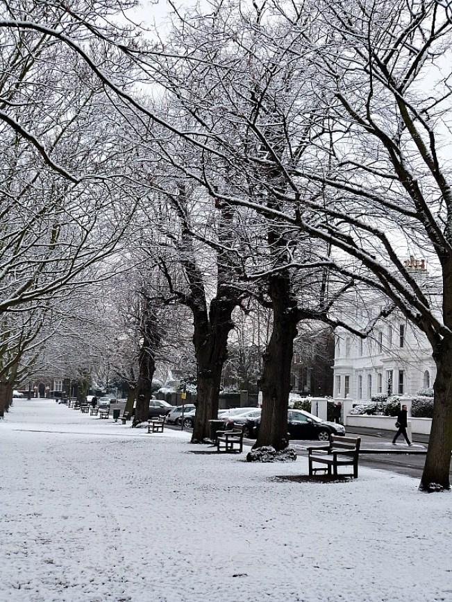 Winter in Richmond UK