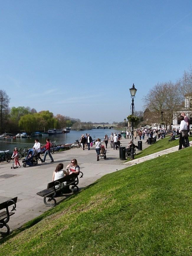 Richmond riverside in Greater London
