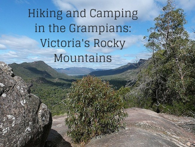 Hiking and Camping in the Grampians, Victoria
