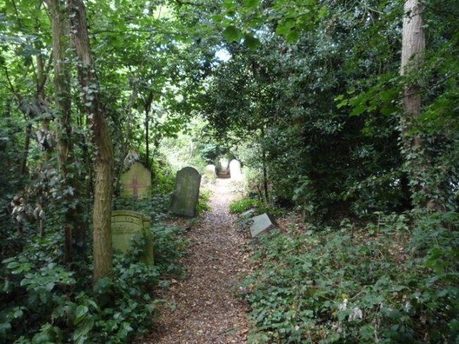 Old Barnes Cemetery - one of the best cemeteries to visit around the world
